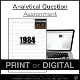 Analytical Question 1984 | 1984