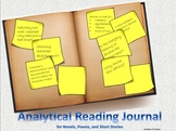 Analytical Reading Journal
