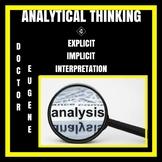 Analytical Thinking Chart