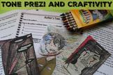 Analyze Author's Tone Prezi and Craftivity