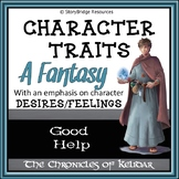 Analyze Character Traits, Feelings, and Desires-A Short Fantasy Story
