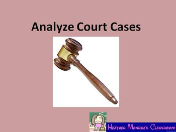 Analyze Court Cases