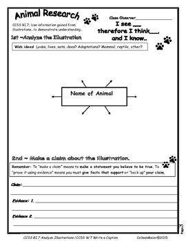 Analyze Illustrations and Photographs ~ Write a Caption