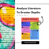 Analyze Literature to Greater Depths