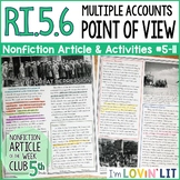 Analyze Multiple Accounts & Point of View RI.5.6 | The Gre