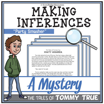 Analyze Text Clues and Make Inferences-A Mystery for Reading Comprehension