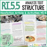 Analyze Text Structure RI.5.5 | Fishing for Fins (Shark Finning) Article #5-8