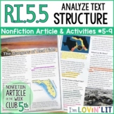 Analyze Text Structure RI.5.5 | Red Tide (Harmful Algal Blooms) Article #5-9