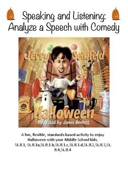 Analyze a Speech Through Comedy