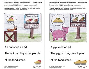 Analyze an Advertisement: Lesson 8, Book 22 (Newitt Nonfiction Series)