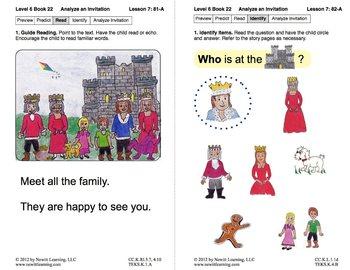 Analyze an Invitation: Lesson 7, Book 22 (Newitt Nonfiction Series)