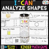 Kindergarten Analyzing and Comparing Shapes