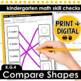 Analyze and Compare Shapes | Kindergarten Math K.G.4