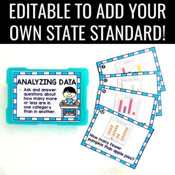 Analyze and Interpret Data Task Cards 1.MD.C.4