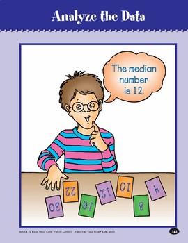 Analyze the Data (Finding Range, Mode, Median)