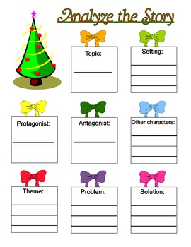 Analyze the Elements in a Christmas Story