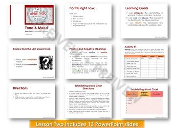 Tone and Mood Analysis
