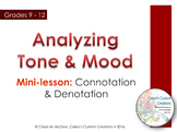 Tone and Mood Analysis
