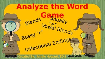 Analyze the Word Game