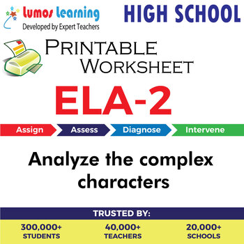 Complex Character Worksheets Teaching Resources Tpt