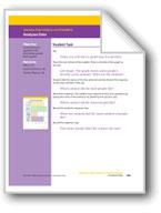 Analyzes Data (Math Assessment PreK)