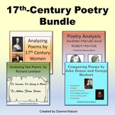 17th Century Poetry Bundle