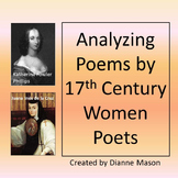 Analyzing Poems by 17th Century Women Poets