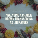 Analyzing A Charlie Brown Thanksgiving as Literature