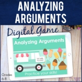 Analyzing Arguments DIGITAL Skill Practice Game | Distance