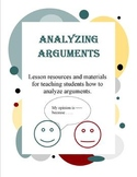 Analyzing Arguments