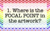 Analyzing Art Wall Questions Chevron