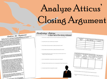 To Kill a Mockingbird Analyzing Atticus' Closing Argument