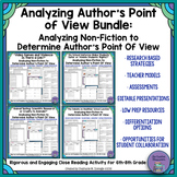 Analyzing Author's Point of View in Non-Fiction Texts Bundle