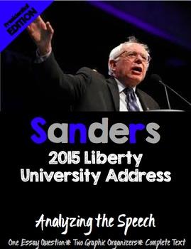 Analyzing Bernie Sanders Speech- Elections