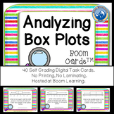 Analyzing Box Plots Boom Cards--Digital Task Cards