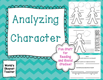 Analyzing Character: Fun Stuff for Reading and Social Studies