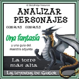 Analyzing Characters-A Short Fantasy in Spanish for Readin