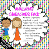 Analyzing Characters Pack {Common Core Aligned}