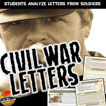 Analyzing Civil War Letters: Common Core Primary Source An