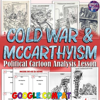 Analyzing Cold War & McCarthyism Political Cartoons