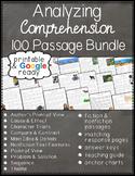 Reading Comprehension 100 Passage Bundle & Questions - Pri