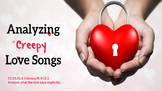Analyzing Creepy Love Songs