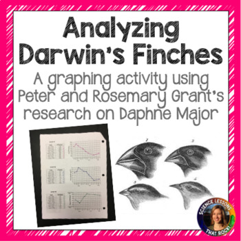Analyzing Darwin's Finches- Evolution Graphing Activity