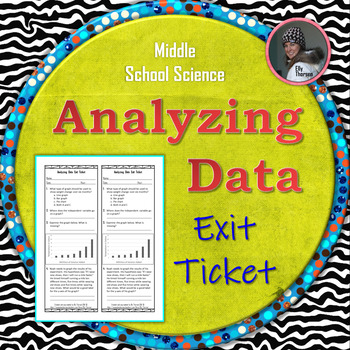Analyzing Data Exit Ticket for the Scientific Method