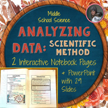 Analyzing Data Interactive Notebook Pages for the Scientific Method