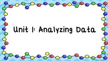Analyzing Data Part 1: Units and Measurement
