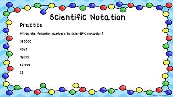 Analyzing Data Part 2: Scientific Notation