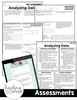 Analyzing Data Unit : 7th Grade Math