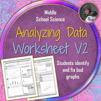analyzing data worksheet volume 2 a scientific method resource by elly thorsen. Black Bedroom Furniture Sets. Home Design Ideas