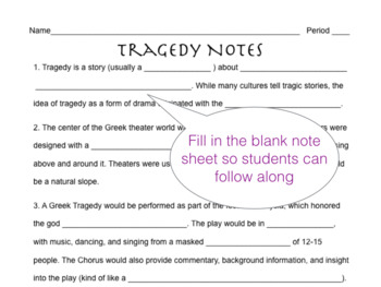 Introduction to Tragedy Presentation